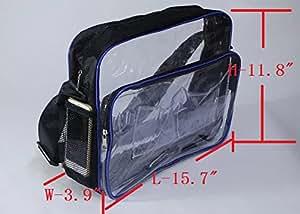 Amazon.com: 15.7inh 40cm30cm10cm Clear PVC Bag cleanroom Engineer Tool Bag deviveryby EMS