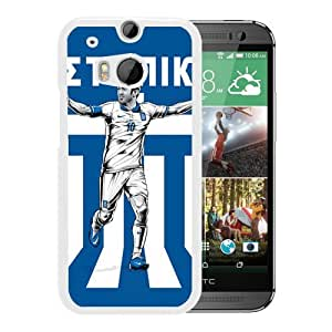 Worldcup Greece (2) Durable High Quality HTC ONE M8 Phone Case