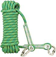Professional Outdoor Rock Climbing Static Safety Rope, Diameter 12 mm, 2100kg 21KN High Strength Accessory Cor