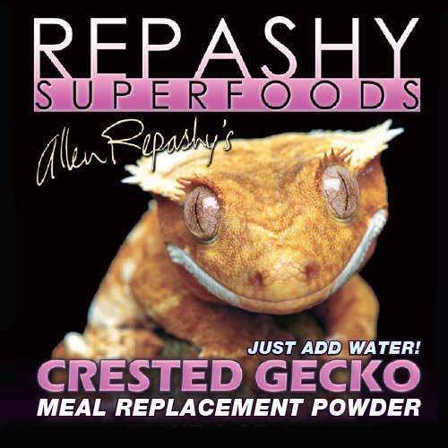Meal 8 Oz Powder - Repashy Crested Gecko MRP Diet - Food 8 Oz (1/2 lb) JAR