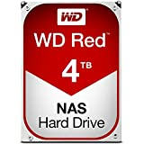 Western Digital WD Red 4TB NAS Hard Disk Drive - 5400 RPM Class SATA 6 Gb/s 64MB Cache 3.5 Inch - WD40EFRX