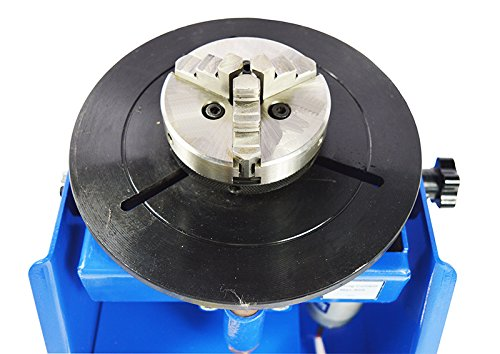 TECHTONGDA 110V Welding Positioner Turntable with 65mm Chuck & Foot Switch by TECHTONGDA (Image #4)