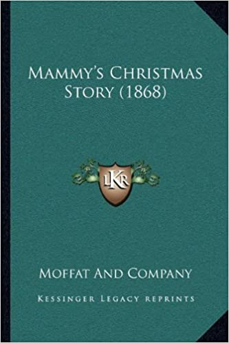 Book Mammy's Christmas Story (1868)