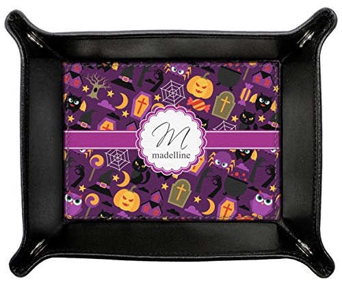 Halloween Genuine Leather Valet Tray (Personalized) by RNK Shops