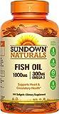 Sundown Naturals Fish Oil 1000 mg, 120+24 Bonus Softgels Review