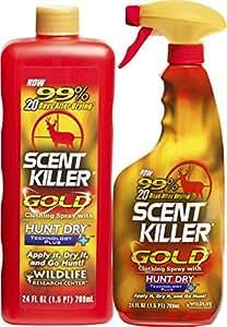 Scent Killer 1259 Wildlife Research Scent Killer Gold 24/24 Combo, 48 oz.