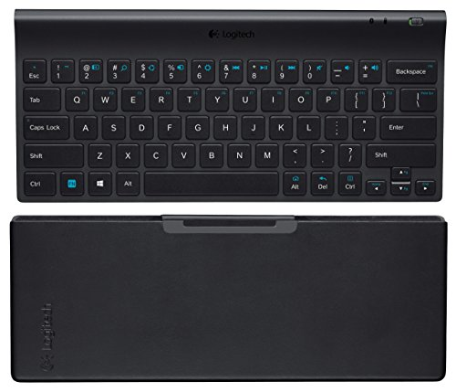Logitech Tablet Keyboard for Windows 8 Windows RT and Android 3.0+ Black (Renewed) (Best Windows 8 Tablet With Keyboard)