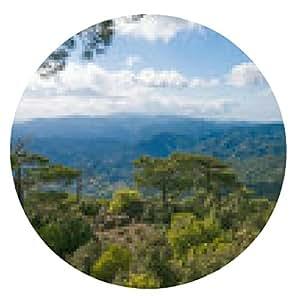 alfombrilla de ratón Impresionante vista panorámica de la montaña - ronda - 20cm