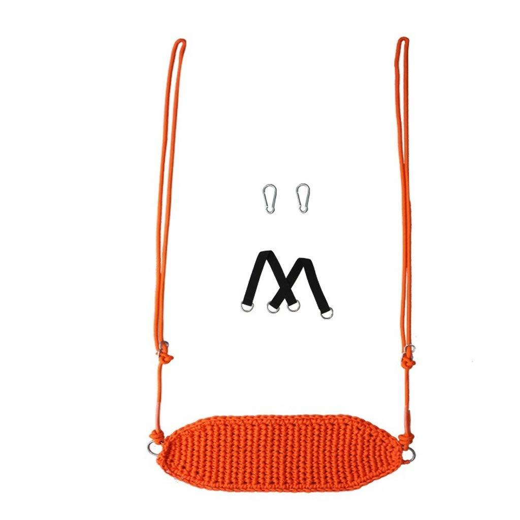【楽天ランキング1位】 スイング : 子供のスイング屋内と屋外の子供のおもちゃホームスイング屋外屋外ベビーチェアベビーロープネットシート スイングスーツ (Color B07RB68JB2 : Orange, サイズ : サイズ 45*43cm) B07RB68JB2 Orange 45*43cm, コスメティックリリー:9cf04468 --- a-school-a-park.ca