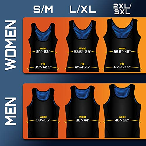 Image result for Sweat Shaper women's Premium Workout Tank Top Slimming Polymer Weight Loss Sauna Vest