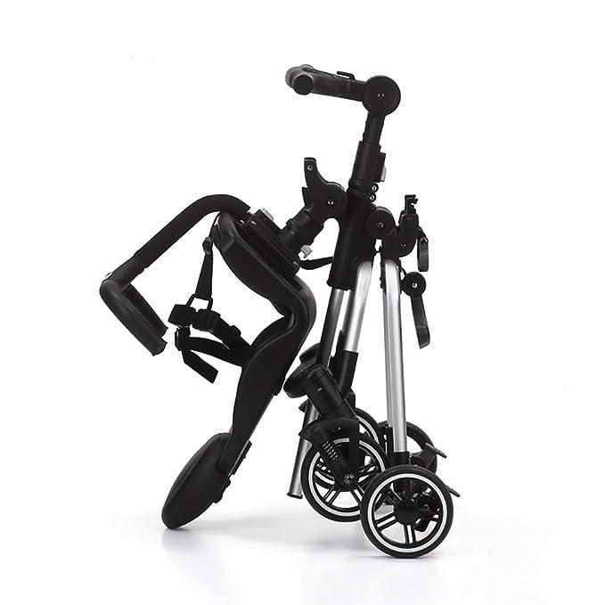 Amazon.com: HSRG - Cochecito ligero, plegable, 4 ruedas ...