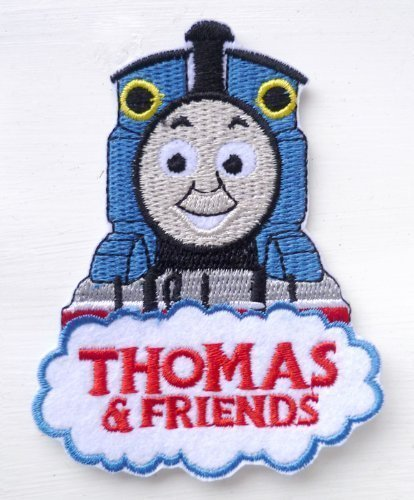 Thomas the Tank Engine /& his Friends Iron Sew on Embroidered Patch Badge Transfer Art Craft Applique Motif by fat-catz-copy-catz