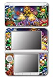 Legend of Zelda Link Wind Waker Stained Glass Video Game Vinyl Decal Skin Sticker Cover for Original Nintendo 3DS XL System