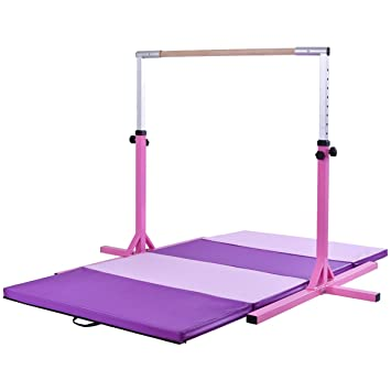Amazon.com: ayamastro horizontal ajustable tren Bar w ...