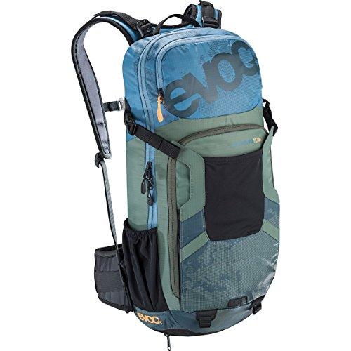 Evoc FR Enduro Team Protector Hydration Pack Copen Blue/Olive/Slate, S
