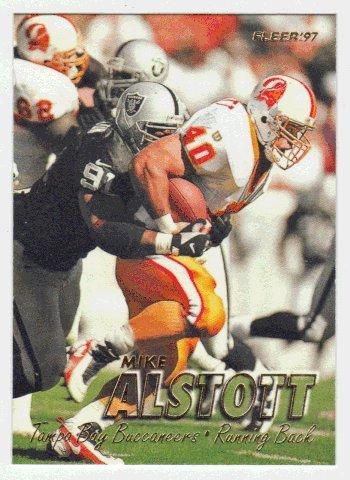 Mike Alstott Nfl - Mike Alstott (Football Card) 1997 Fleer # 296