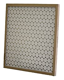 Glasfloss Industries PTA12251 PTA Series Heavy Duty Disposable Panel Air Filter, 12-Case