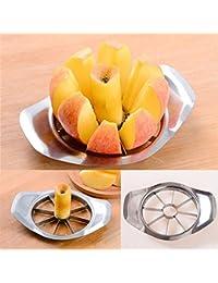 PickUp Shining_shopping Stainless Steel Apple Slicer Fruit Corers Kitchen Tool dispense