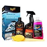 Best Boat Waxes - Meguiar's M6385 New Boat Owner's Kit, 1 Pack Review