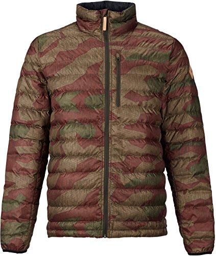 Burton Evergreen Lightweight Insulator Jacket, Splinter Camo, Large (Burton Lush Snowboard Jacket Black Polka Squares)