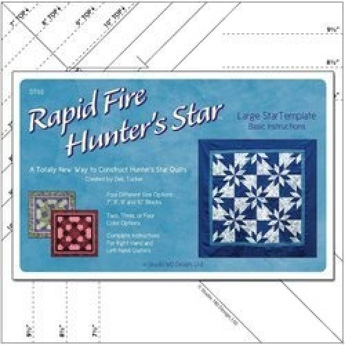 - Rapid Fire Hunter's Star LARGE Template Studio180 Design
