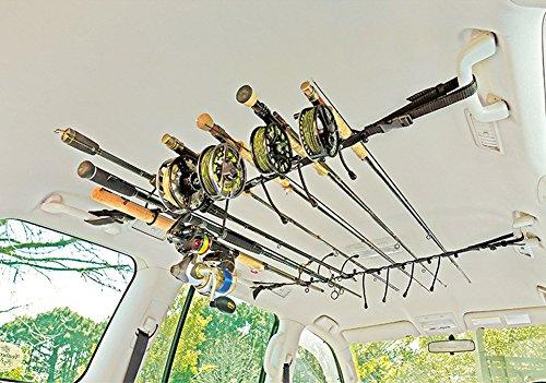 Smith creek rod rack heavy duty vehicle interior rod for Fishing rod holder for suv