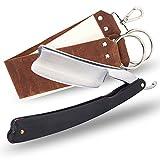 New design gold dollar club cut throat straight razor shaving razor
