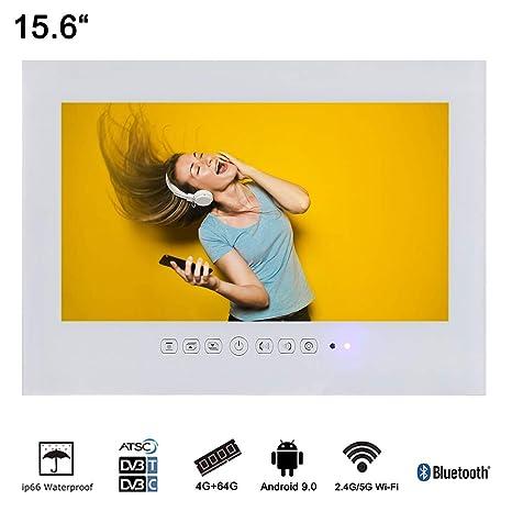 Amazon Com Soulaca 15 6 Smart Android Waterproof Led Tv