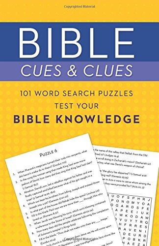 Bible Cues and Clues: 101 Word Search Puzzles - Cues And Clues