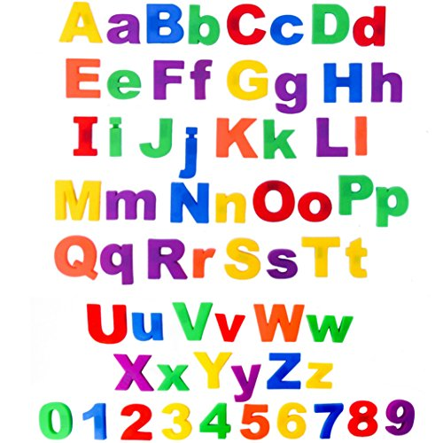 Somasix-New-and-Improved-ABC-Magnetic-Letters-and-Numbers-Educational-Refrigerator-Magnets-62-Pieces