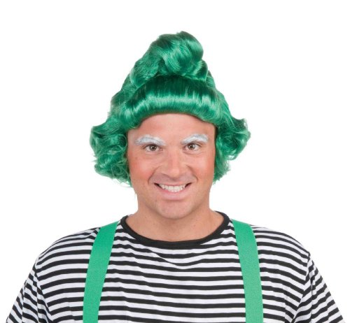 Halloween Costumes Oompa Loompa (Forum Novelties Green Elf Wig)