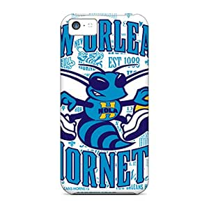 Hot New New Orleans Hornets Case Cover For Iphone 5c With Perfect Design