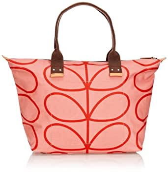 Orla Kiely Linear Stem Easy Zip Tote Shoulder Bag