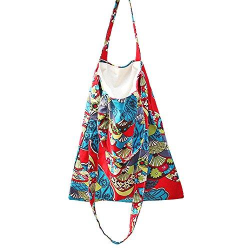 INTERESTPRINT Tropical Fruit Women Top Handle Satchel Handbags Tote Bag