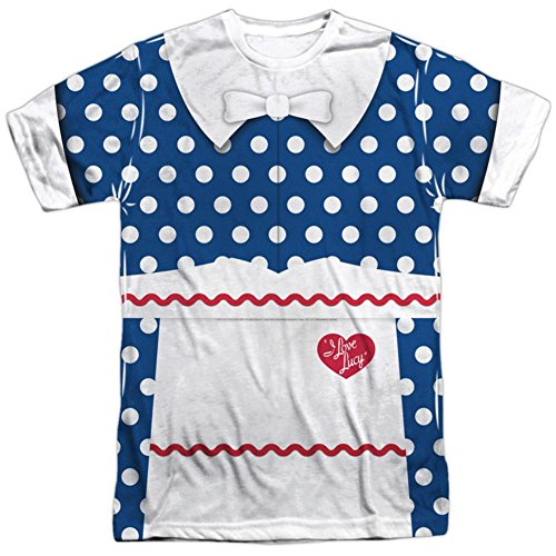 I Love Lucy Costume Ricky (I Love Lucy- Polka Dot Costume Tee T-Shirt Size XXL)
