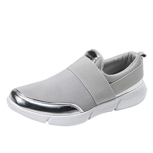 Chaussures Occasionnels Mocassins Maille Confortable Femmes Plates ZPEBwStqEx