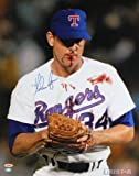 Nolan Ryan Signed Autographed Texas Rangers Bloody Lip 16x20 Photo TRISTAR COA