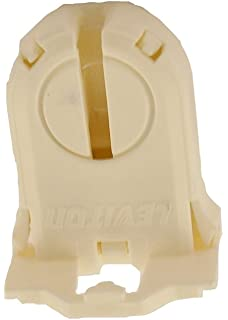 Leviton 23661-SNP Fluorescent Lampholder, T8/T12 (G13 Base) Shunted,