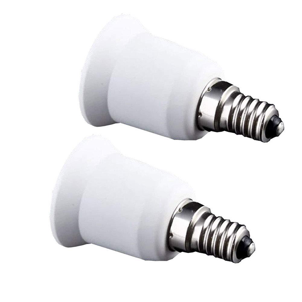 E14 /à E27 Douille Adaptateur Ampoule Douille de base pour ampoules LED halog/ène Incandescent Edison bouchon /à vis