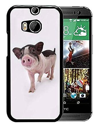 Amazon.com: Carcasa para HTC One M8, diseño de texto en inglés