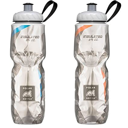 f60e57867e Amazon.com : Polar Bottle 24oz Insulated Water Bottle 2 Pack ...