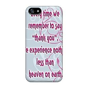 Excellent Design Thanku Phone Case For Iphone 5/5s Premium Tpu Case