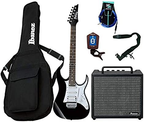 Guitar Starter Pack Ibanez Guitarra Eléctrica Entry Level/Combo 10 ...