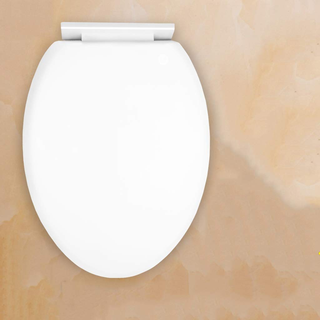 LXYFMS Toilet Cover Thickening Slow Mute Toilet Seat U-V Toilet Universal Toilet lid (Color : V)