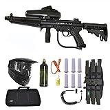 Tippmann A-5 w/ Response Paintball Marker Gun 3Skull Flatline Sniper Set