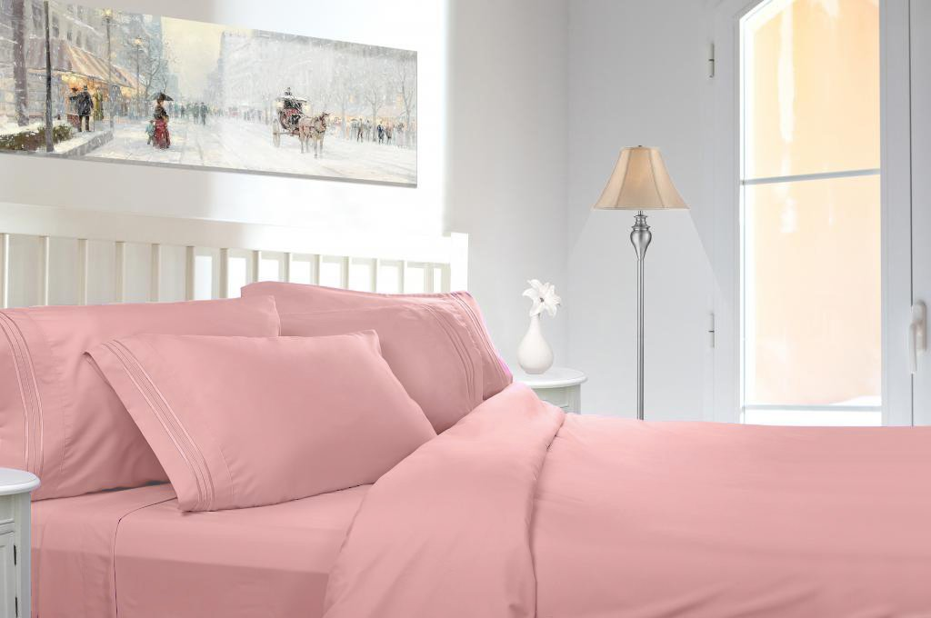 Premier Sheets Set, Peach - King