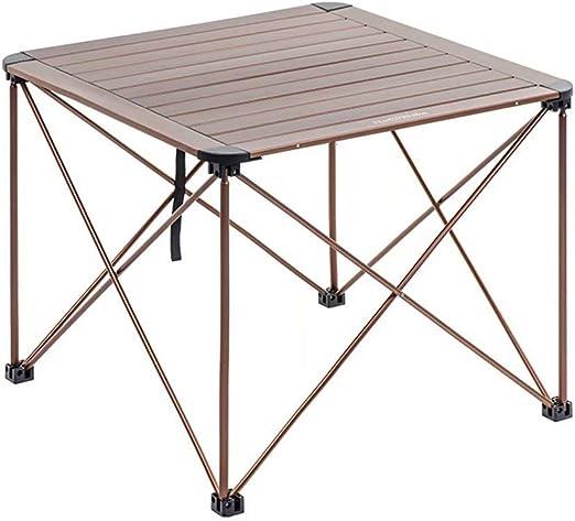 HSTFⓇ Mesa Plegable para Patio, balcón o pórtico con Estructura ...