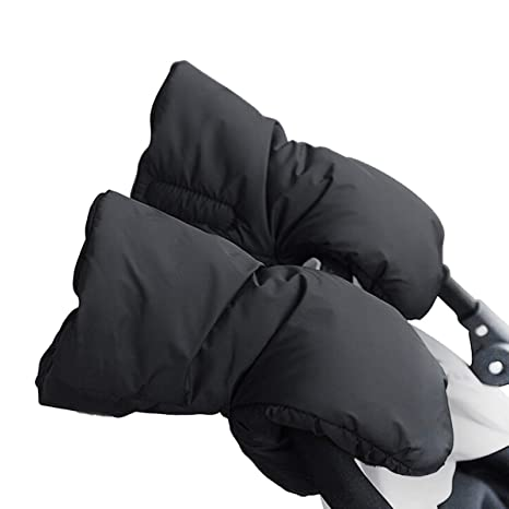 Guantes para Silla de Paseo, Sunshine D Manoplas Guantes de Forro Caliente Polar Impermeable de
