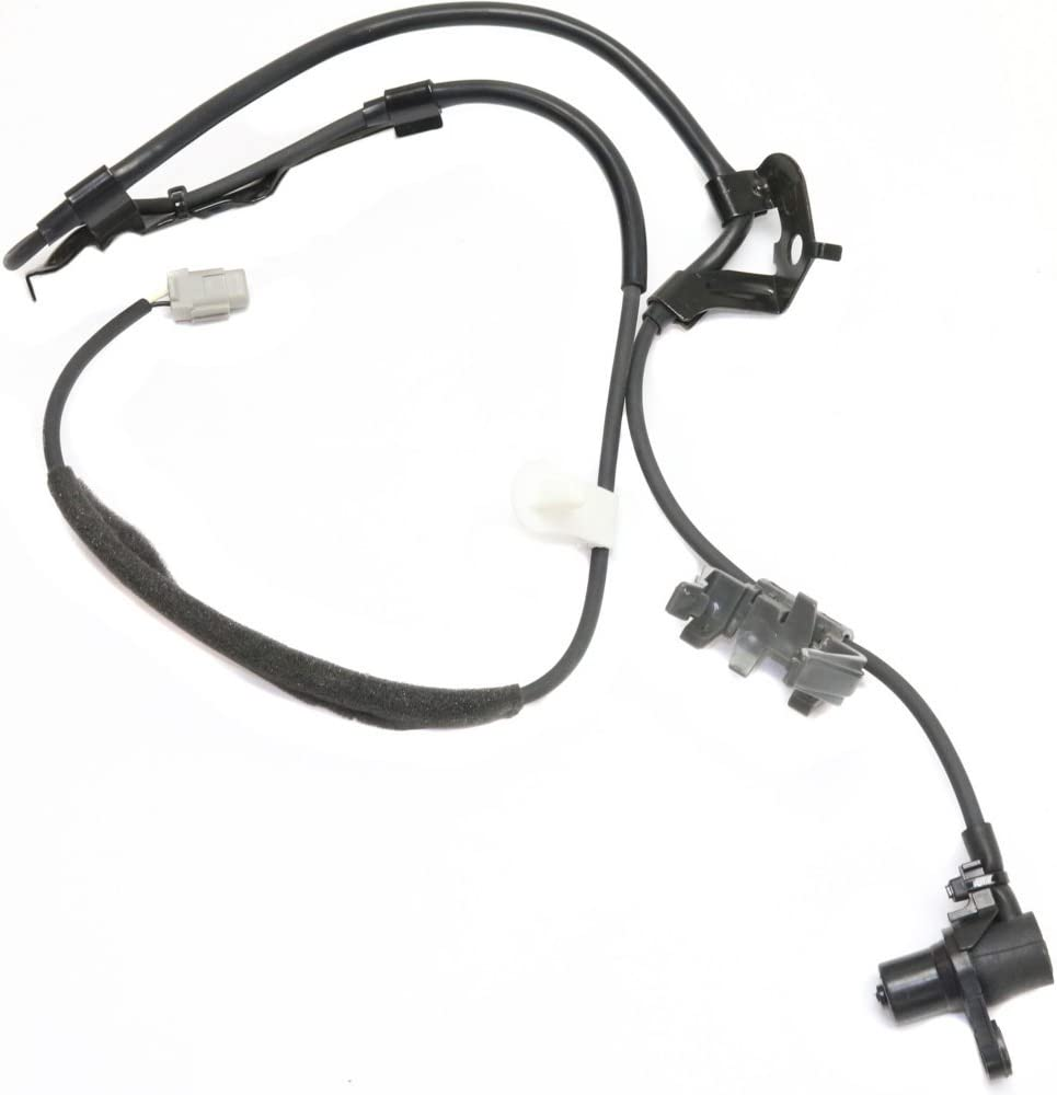 ABS Speed Sensor compatible with SIENNA 04-10 Front Left Side AWD//FWD 2 Female Terminals Blade Type Wheel Mounted
