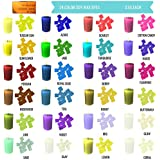 24 Color Wax Dye – DIY Candle Dye - Dye Flakes for Candle Making Supplies Kit - Soy Dye for Candle Molds - for Soy Candle Wax Kit – for Hemp Candle Wicks - for Making Scented Candles